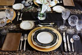 Formal Setting Of A Table Table Setting 101 Perfect Place Settings Gracious Living Guide