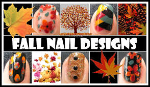 fall nail art tutorials autumn fishtail braided weave flower