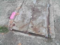 decorating rustic sagging bilco doors for walkway ideas