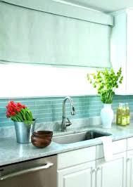 green glass tiles for kitchen backsplashes blue tile backsplash kitchen blue subway tile blue green glass tile