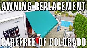 Rv Awning Mosquito Net How To Replace An Rv Patio Awning Carefree Of Colorado Youtube