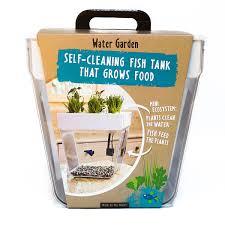 water garden fishbowl u0026 herb garden uncommongoods