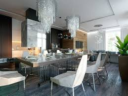 dining kitchen ideas open concept living room dining room kitchen 1 contemporary style