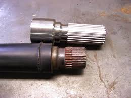 bmw drive shaft bmw x5 front drive shaft repair with 1 extended splines no