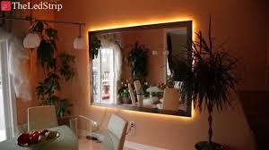 smd led strip light smd 5050 rgb flexible led strip light behind crown molding youtube