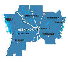 Louisiana On The Map by By The Region Five Great Spots For Birding In Louisiana
