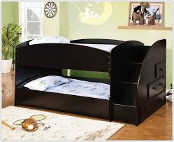 Marvelous Trundle Bunk Bed With Stairs With Bunk Beds Roomskids - Trundle bunk beds