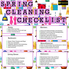 how to spring clean your house the ultimate checklist for spring cleaning your house