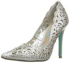 betsey johnson blue wedding shoes blue by betsey johnson s sb elsa dress pumps