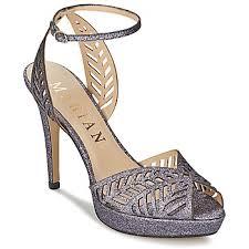 chaussures argentã es mariage chaussures de mariage femme livraison gratuite avec spartoo