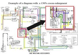 1966 mustang ammeter wiring diagram 1966 wiring diagrams