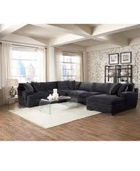Macys Sectional Sofas by Teddy Fabric Sectional Collection Created For Macy U0027s Sectional