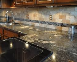 Best Granitetile Backsplash Images On Pinterest Backsplash - Granite tile backsplash ideas