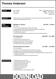 Resume Templates In Ms Word Download 12 Free Microsoft Office Docx Resume And Cv Templates