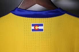 New Jersey State Flag Colors 2017 Colorado Rapids Secondary Kit Unveiled Colorado Rapids