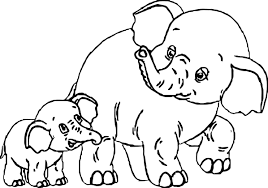 coloring page elephant india elephant coloring page