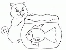 animal coloring empty fish bowl coloring page constellation