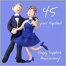 45th wedding anniversary card co uk kitchen home