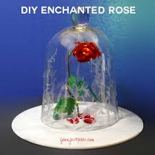 diy enchanted rose from beauty u0026 the beast jennifer maker