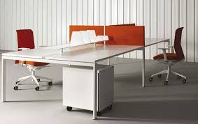 open office desk dividers exquisite stylish office furniture feature white lacquered wooden