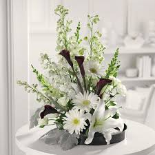 Calla Lily Flower Delivery - white lilies flower arrangements google search flowers