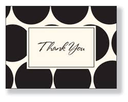 business thank you cards flirty dots thank you cards business thank you cards 9928