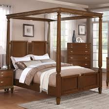 North Shore Canopy King Bed by Hang Curtains To Create A North Shore Canopy Bed Look Modern