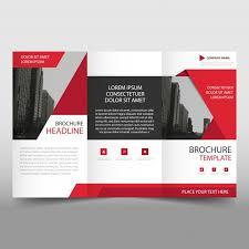 free tri fold business brochure templates modern trifold business brochure template vector free