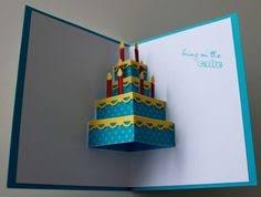 pop out birthday cards how to make a birthday cake pop up card robert sabuda method