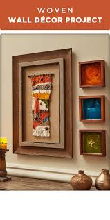 469 best frames wall decor images on pinterest wall decor add some fall to your wall with this woven wall decor project