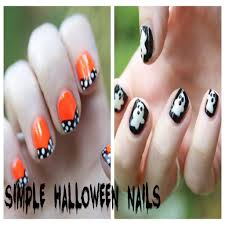 halloween nail art youtube image collections nail art designs