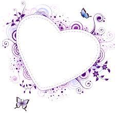 purple heart transparent frame gallery yopriceville high
