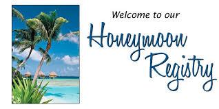 wedding registry for honeymoon the 411 on honeymoon registries cardinal bridal