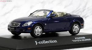 lexus dark blue toyota soarer 430 scv dark blue mica metallic diecast car