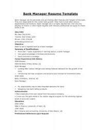 Resume Examples For Banking Jobs by Examples Of Resumes 89 Fascinating Work Resume Format History