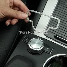 mercedes accessories store aliexpress com buy aluminum alloy interior medio button cover