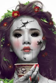 Killer Doll Halloween Costume Denae Potterf Potterf Nae Lets Figure