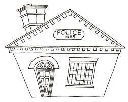 policeman badge coloring page virtren com