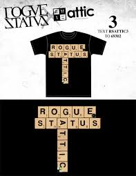 black friday t shirt attic x rogue status