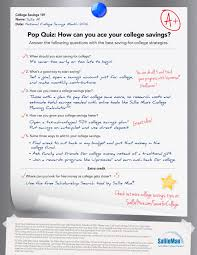 Create A Free Resume Online And Save Earn An Easy A In College Savings 101 With Sallie Mae U0027s National