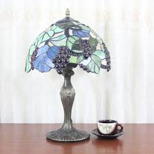 Tiffany Table Lamp Shades Tiffany Lamp Shades With Grapes Roselawnlutheran