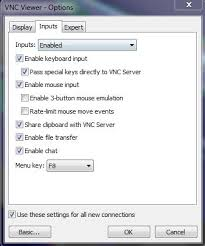 vnc console linux vnc console does not accept any keyboard mouse inputs