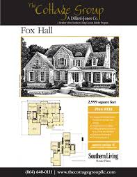 fox hall the cottage group southern living house plans