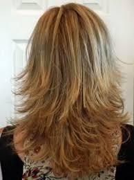 side and back views of shag hairstyle back view medium length layered shag honey women medium haircut
