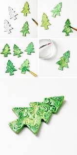 diy watercolour clay christmas decorations gathering beauty