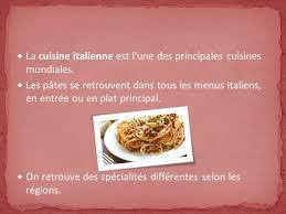 la cuisine italienne la gastronomie italienne ppt télécharger