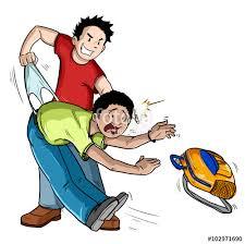 imagenes bullying escolar ilustración de acosador haciendo calzón chino bullying acoso escolar