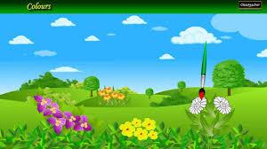 rainbow colors nursery poems in english rhyme playlist for