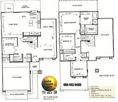 Floor Plan For 2 Story House Warner Ranch Tempe Floor Plans Warner Ranch Estates Tempe Az 85284