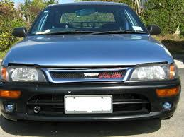 1996 toyota corolla front bumper tune up corolla dx
